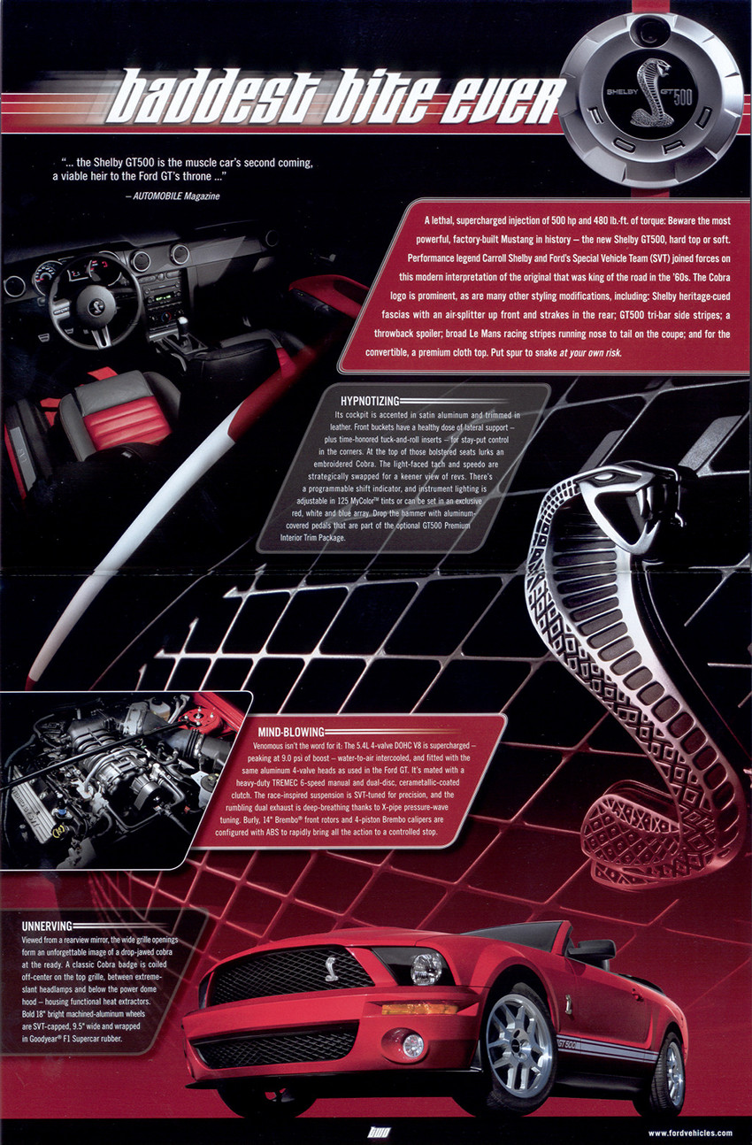 Page 4 and 5 : Introduciton of the GT500