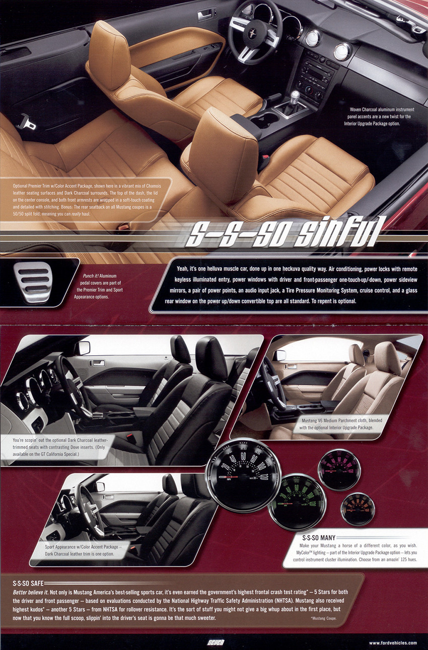 Page 14 and 15 : interior features