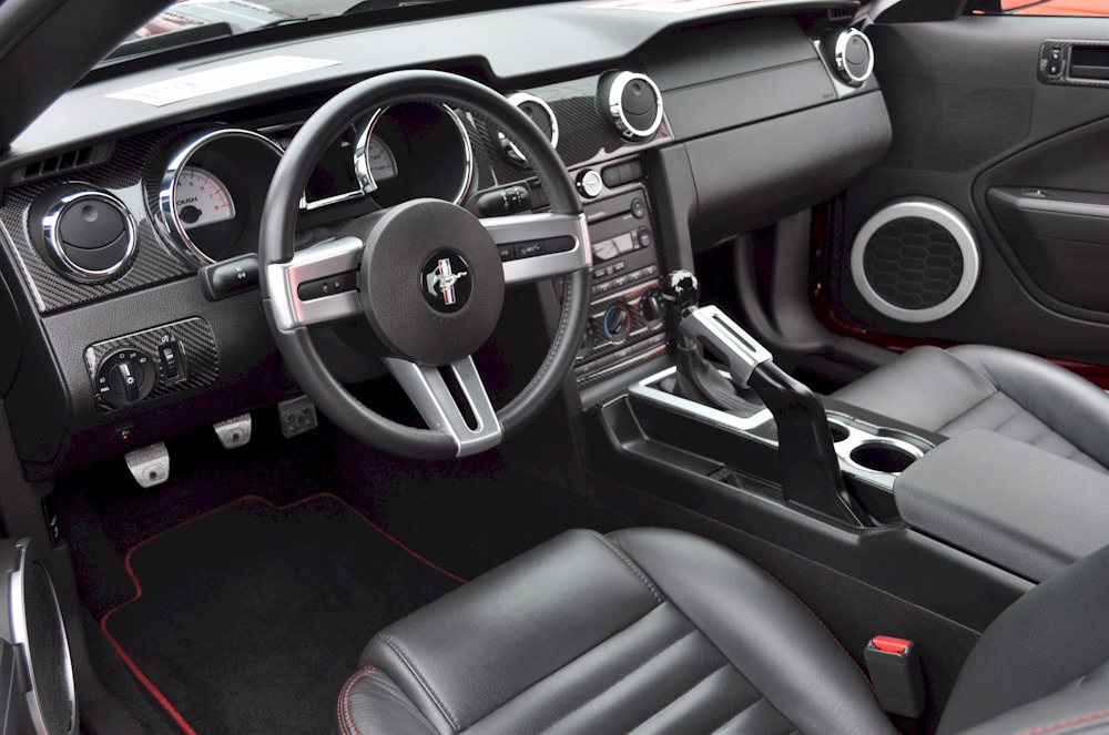2007 Roush Mustang Stage 1 Interior