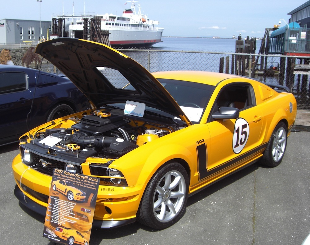 Grabber Orange 2007 Mustang Saleen 302 Parnelli Jones