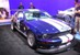 Custom Vista Blue 2007 Ford Racing Mustang Shelby Cobra GT500 Coupe from SEMA 2007
