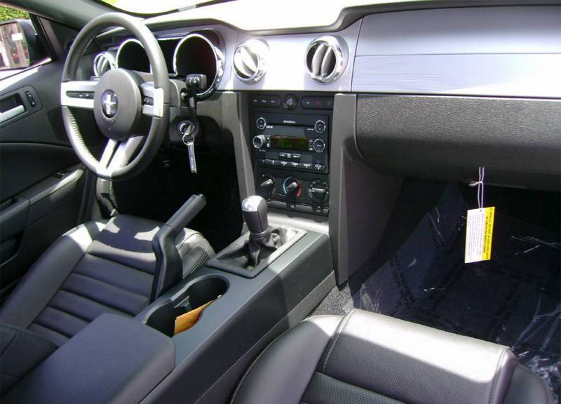 Image Gallery 2008 Mustang Interior