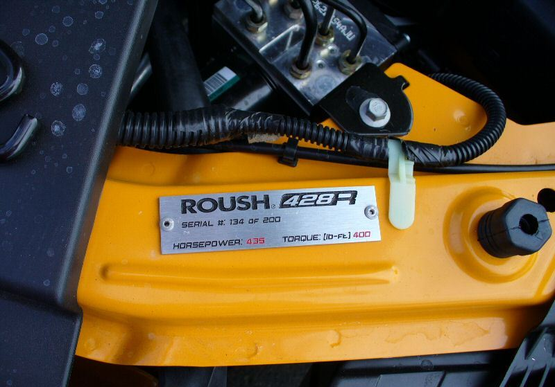 Roush 428R serial number