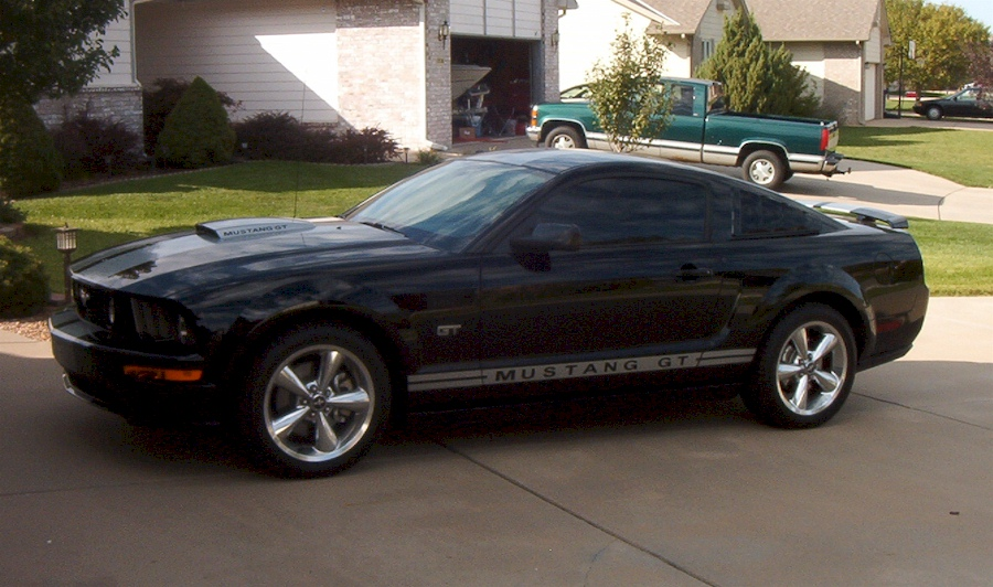 Black 2008 Ford Mustang Gt Coupe Mustangattitude Com