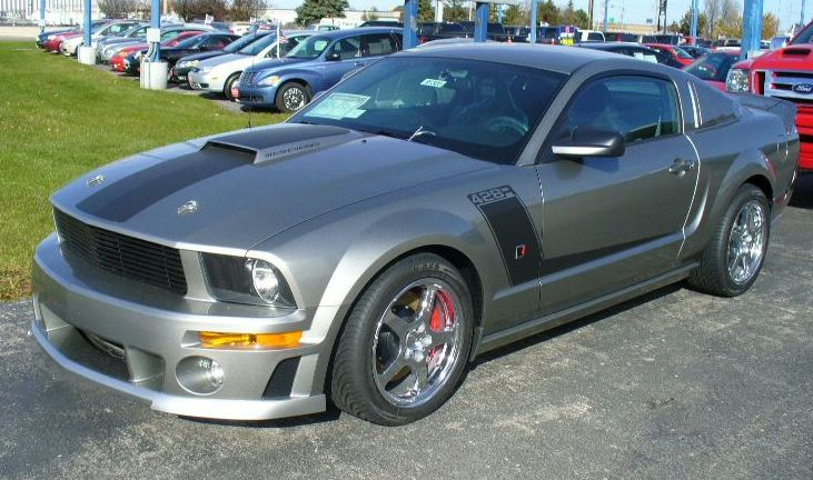 Vapor 2008 Mustang Roush 428R Stage 3 Coupe