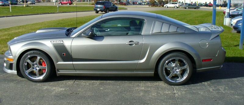 Vapor Silver 2008 Roush 428r Ford Mustang Coupe