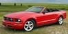 Torch Red 2008 Mustang Convertible