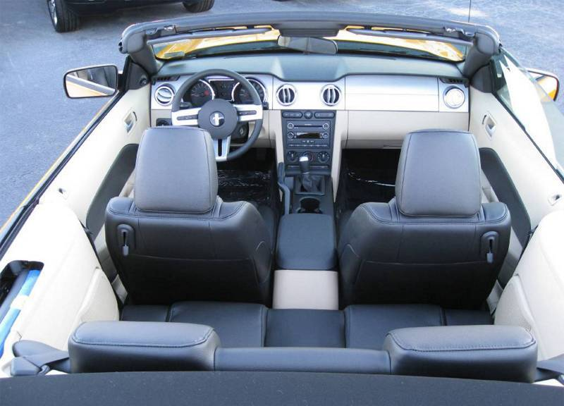 Interior 2008  Mustang GT/CS Convertible