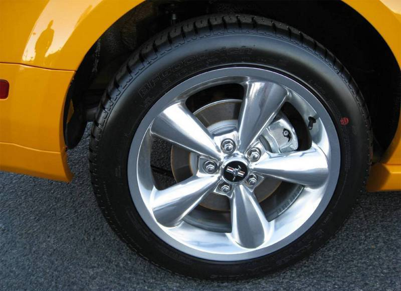 2008 Mustang 18 Inch Polished Aluminum Wheels