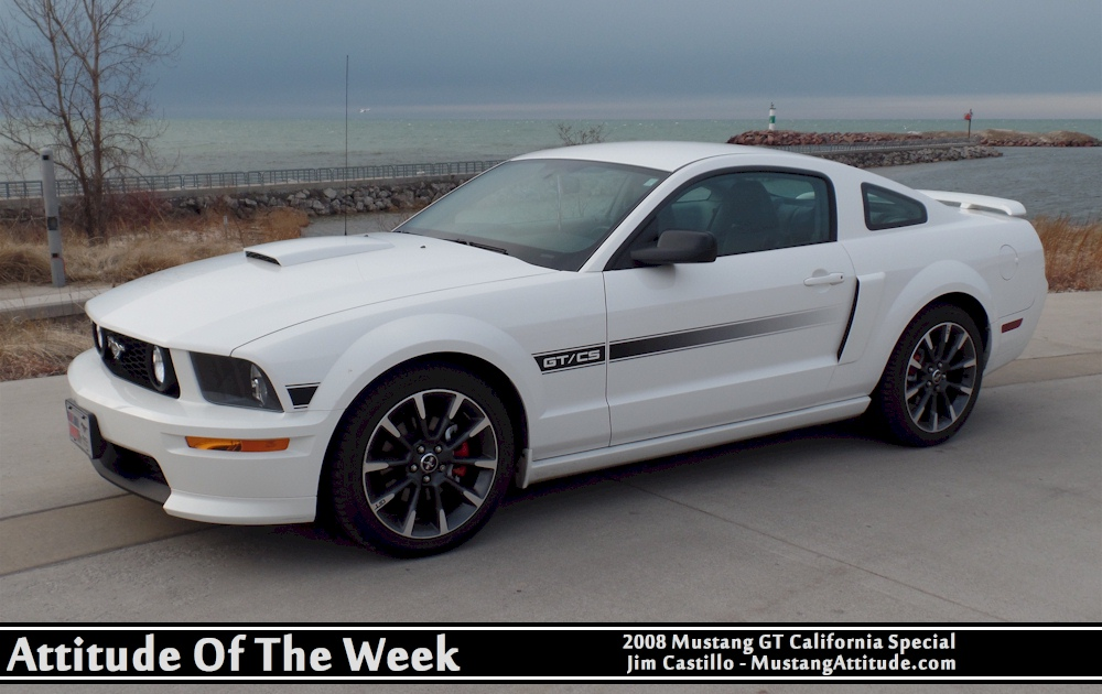 Performance White 2008 Ford Mustang Gt California Special