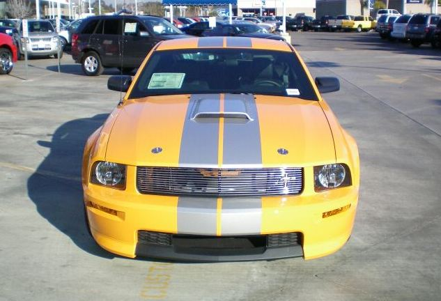 Grabber Orange 2008 Mustang Shelby GT-C Coupe