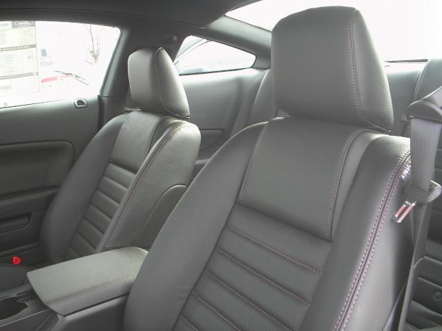 Interior 2008 Mustang Warriors in Pink Sally Mustang Coupe