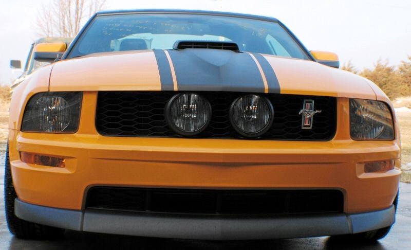 Grabber Orange 2008 Mustang GT Twister Special Coupe