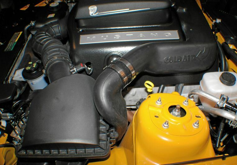 Twister Modified 2008 Mustang GT Engine
