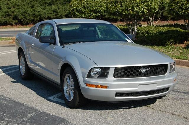 Silver 2008 Ford Mustang Coupe Mustangattitude Com Photo