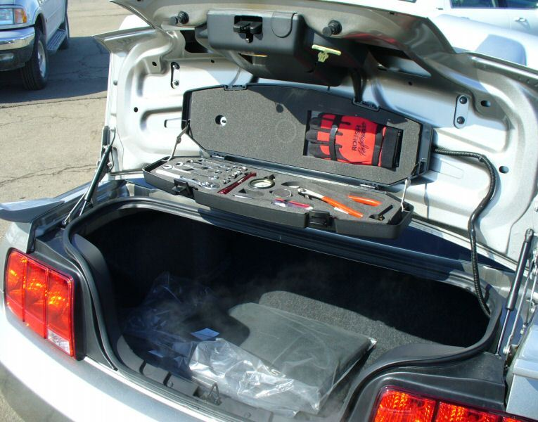 2008 Roush Mustang Trunk Mounted Tool Kit