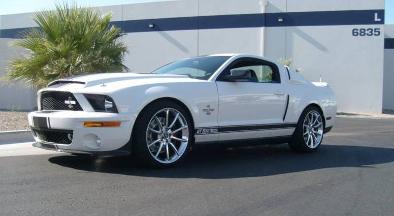 mustang gt500 white. performance white 08 mustang shelby gt500 super snake coupe gt500