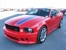 Torch Red with Blue Stripes 2008 Saleen American Flag Coupe