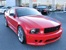 Torch Red with Blue Stripe 08 Saleen American Flag Coupe