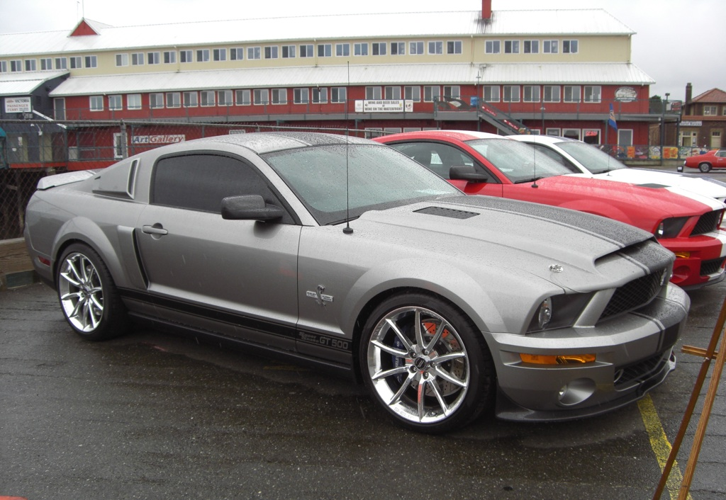 Grey 2008 Ford Mustang Shelby Gt500 Super Snake Html
