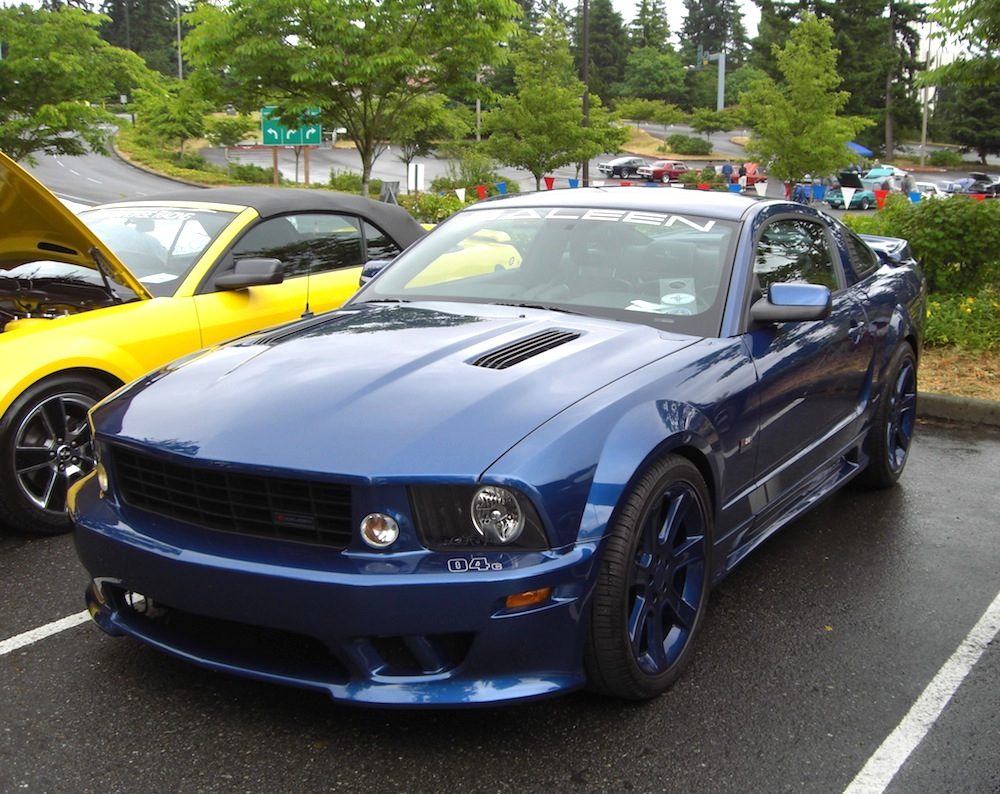 vista blue 2008 saleen s281 sc ford mustang coupe photo detail. Black Bedroom Furniture Sets. Home Design Ideas