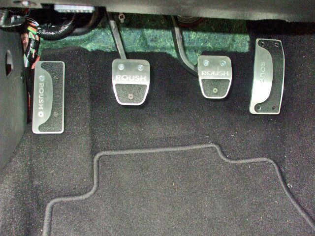 2009 roush performance pedals