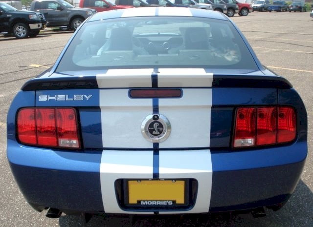 Vista Blue 2009 Shelby GT-500 Coupe