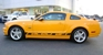Grabber Orange 09 Saleen Racecraft 420S Mustang Coupe