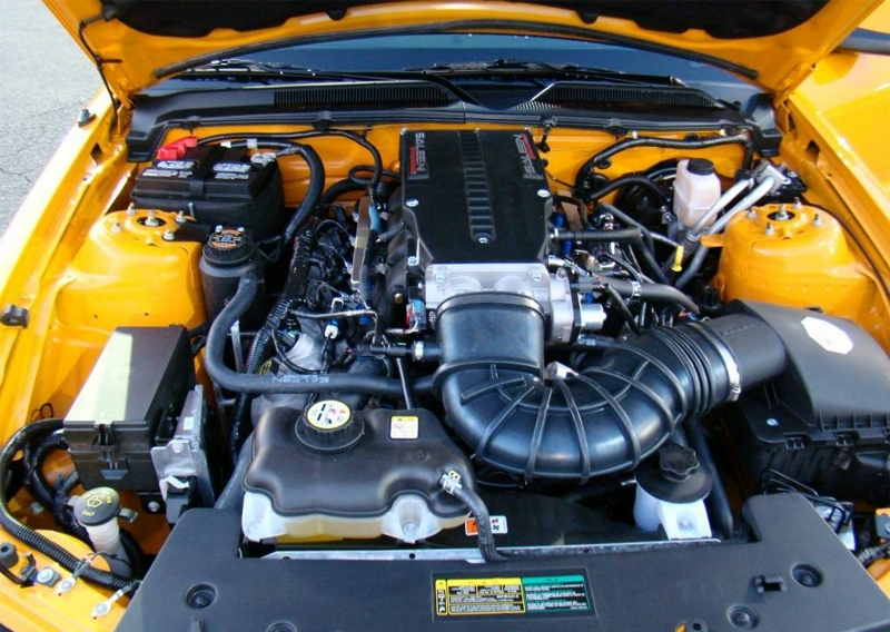 Saleen Supercharged 2009 Racecraft 420S 4.6L V8 Engine