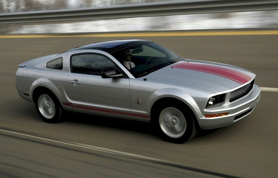 Brilliant Silver 2009 Ford Mustang