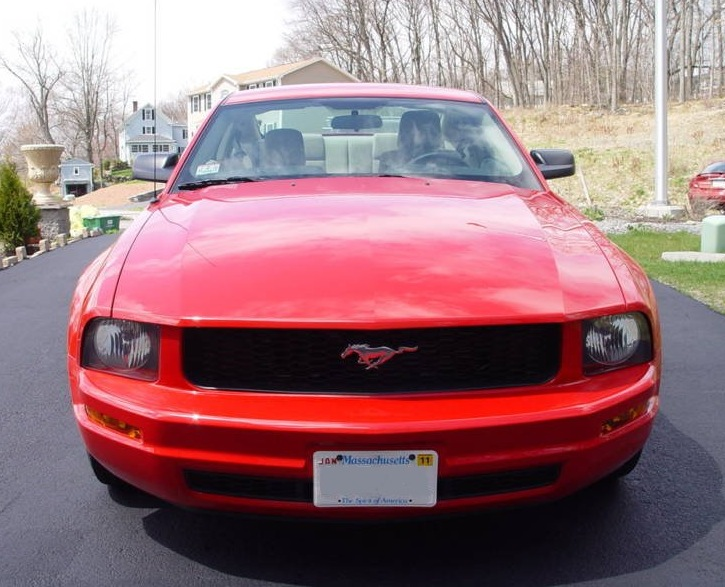 Torch Red 2009 Mustang V6 Coupe