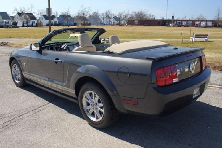 Alloy 2009 Ford Mustang Convertible Mustangattitude Com