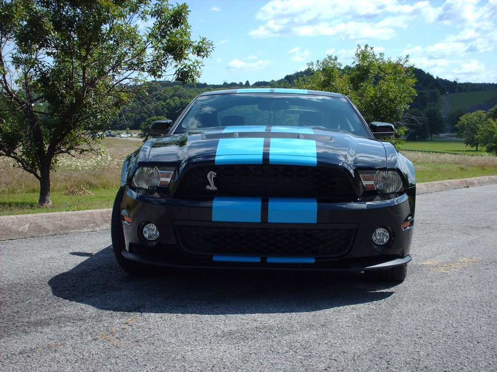 All Types 2010 mustang shelby : Black 2010 Ford Mustang Shelby GT-500 Coupe - MustangAttitude.com ...