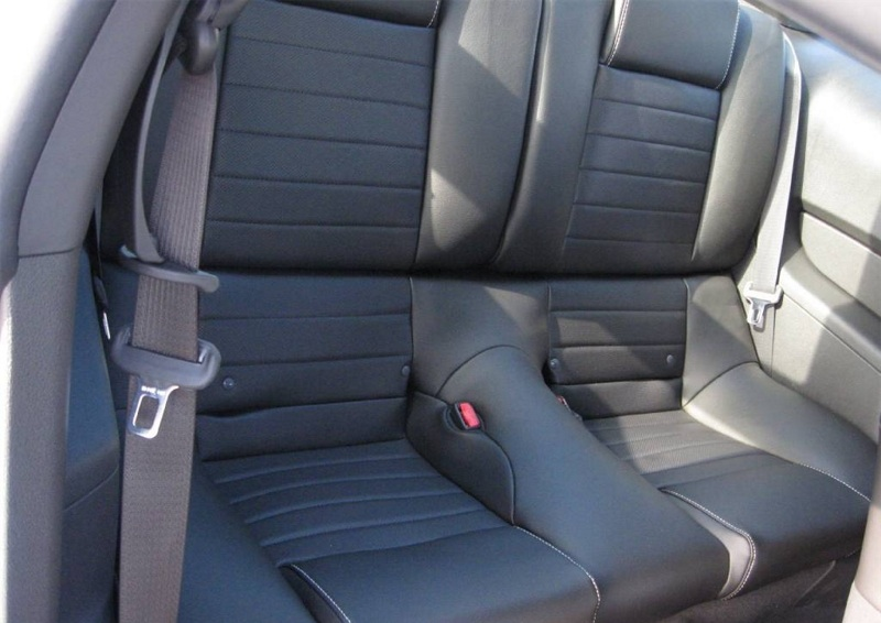 Backseat 2010 Mustang GT Coupe
