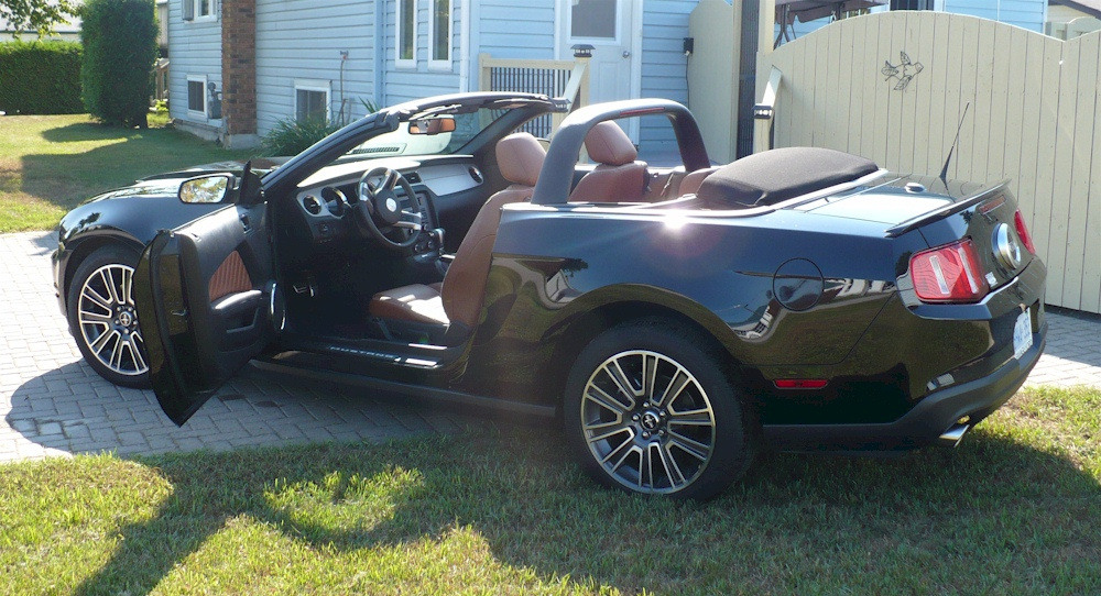 Black 2010 Ford Mustang GT Convertible  MustangAttitudecom Photo