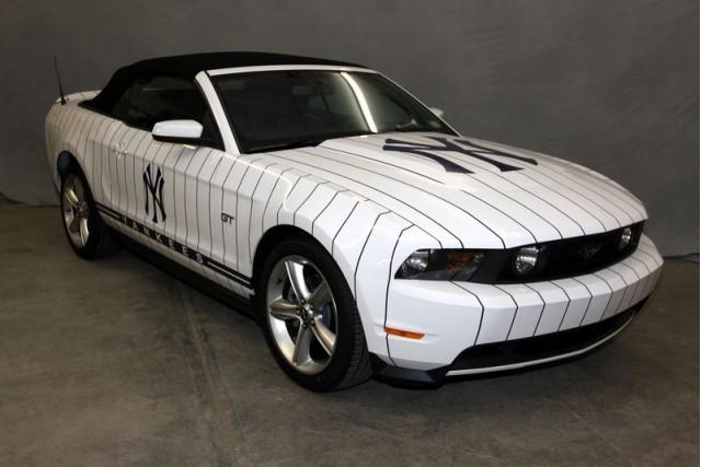 New York Yankees Bullpen Car