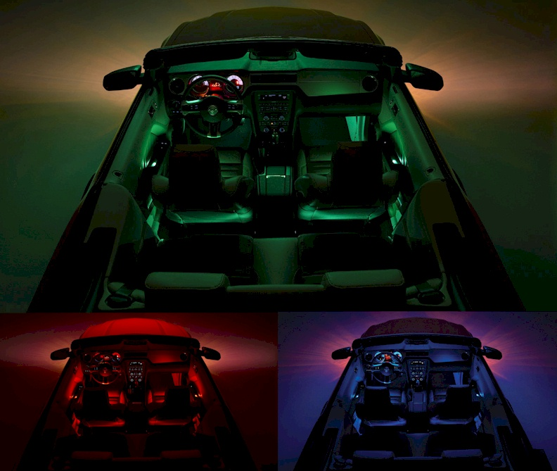 2014 Mustang Interior Lights The Image Kid Has It