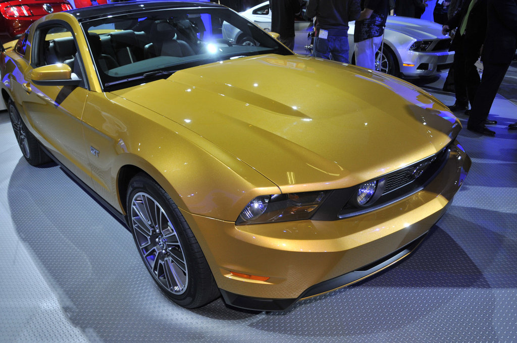 Sunset Gold 2010 Mustang Gt Coupe