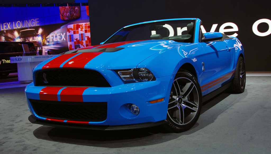 Grabber Blue 2010 Mustang Grabber Blue 2010 Shelby Gt500