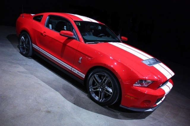 Torch Red 2010 Shelby GT500 Mustang Coupe