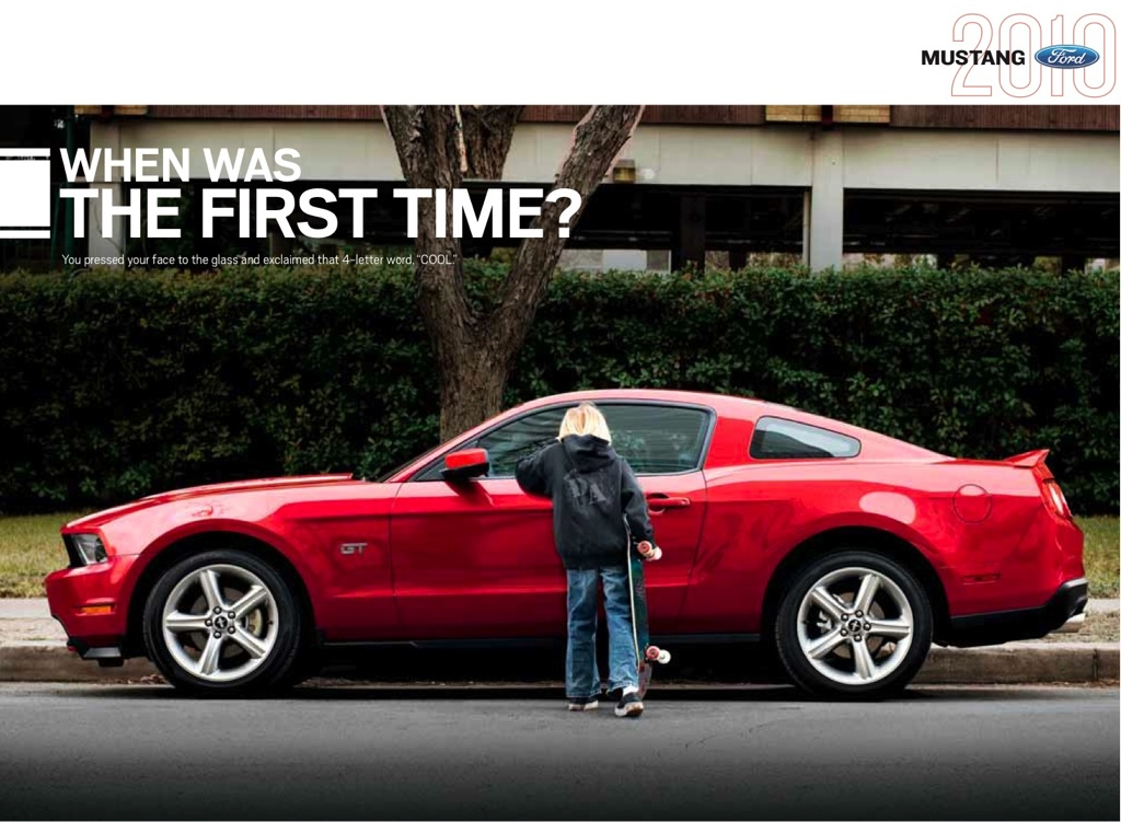 Ford 2010 Mustang Promotional Brochure