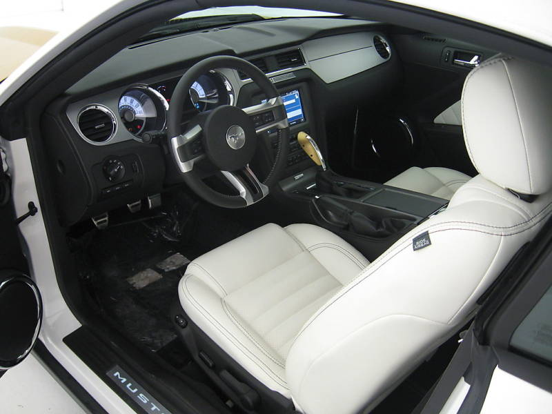 2010 Mustang Hurst Pace Car Interior