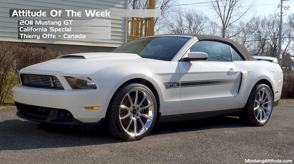 Performance White 2011 Mustang GT/CS