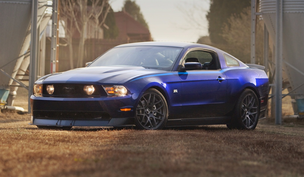 Kona Blue 2011 Ford Mustang Gt Rtr Coupe Mustangattitude