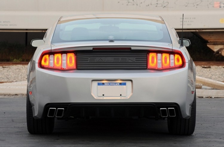 Ingot Silver 2011 Saleen S302 Coupe