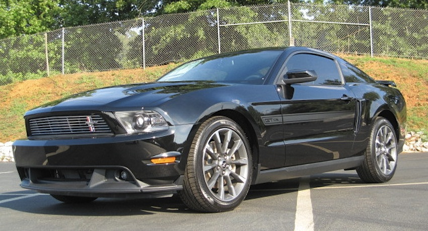 Black 2011 Mustang GT California Special