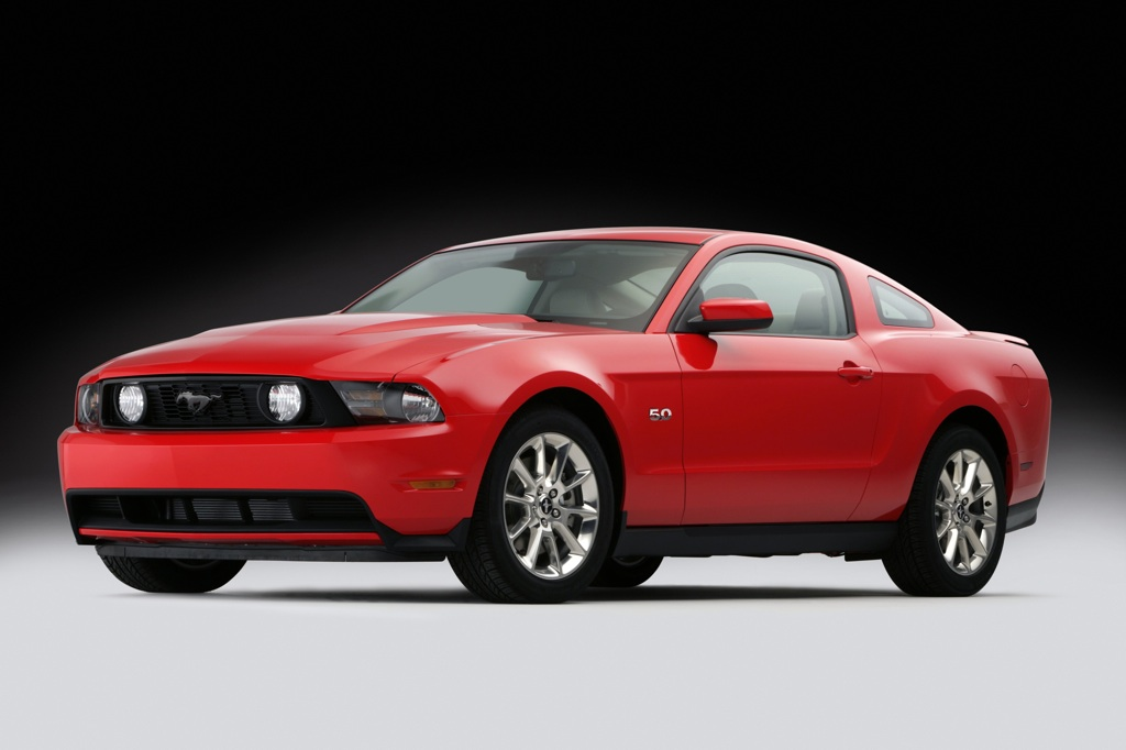 Race Red 2011 Mustang GT Coupe