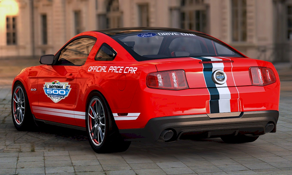 Race Red 11 Mustang GT Pace Car