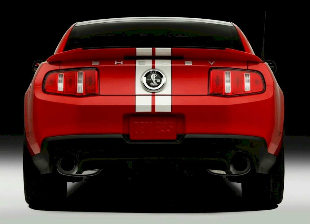 Race Red 2011 Shelby GT-500