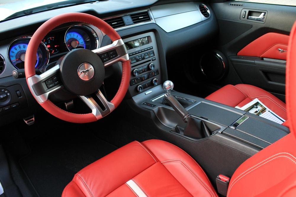 mustang 2011 interior. 2011 Mustang GT Interior